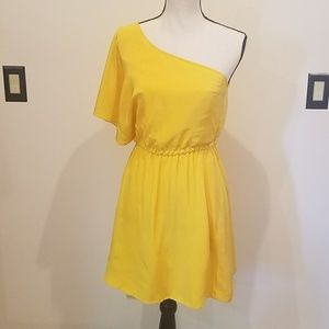 Tracy Reese One Shoulder Dress